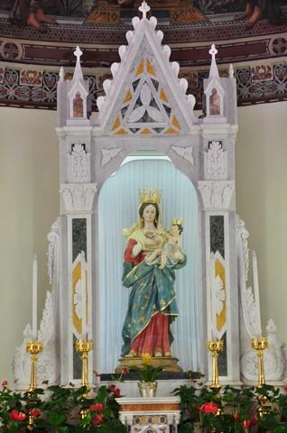 Cerreto Sannita statua Madonna delle Grazie